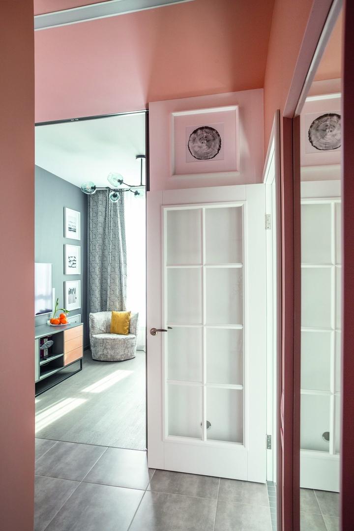 Проект небольшой  квартиры в Киеве от Галины Никулиной