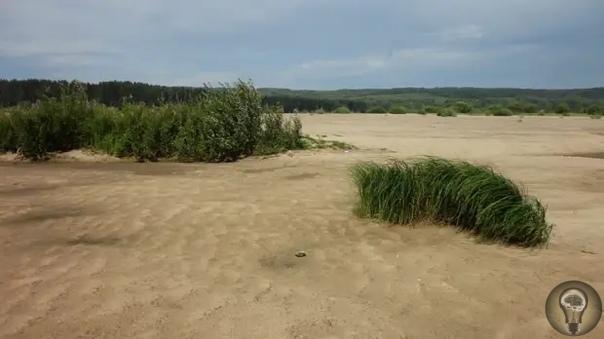«Поющие пески» у деревни Атары