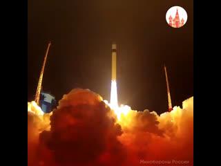 Пуск ракеты-носителя Рокот