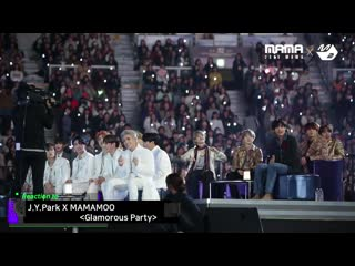 Reaction Cam BTS & TXT & ATEEZ Reaction to  X MAMAMOO @ 2019 MAMA