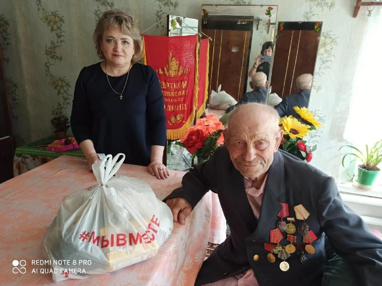 В Центре социального обслуживания населения Петровского района продолжается реализация проекта «Мы вместе»