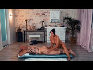 Reagan Foxx - nuru massage milf mature mofod boobs busty ass oil handjob blowjob sex porn cumshot эротисеский массаж секс