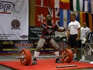 David Ricks - Masters World Record Deadlift