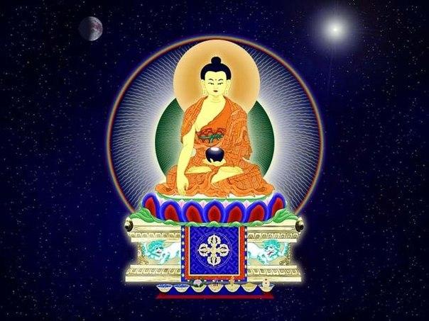 Открытку марта, открытка буддиста
