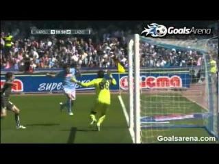 Napoli Lazio 4-3 Ampia Sintesi - Goals & Highlights 03-04-2011