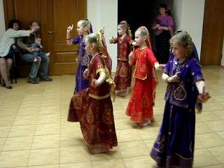 Индийский танец Софии