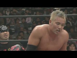 Hiroshi Tanahashi vs. Kazuchika Okada IWGP title match NJPW Invasion Attack 2013 5 star match JAP