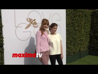 Bella thorne meets anna kendrick lovegold a celebration of gold and glamour