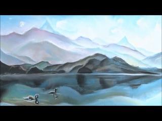 My chemical romance Helena piano Aleksandr Alyonin картина пейзаж нарисованный мелом