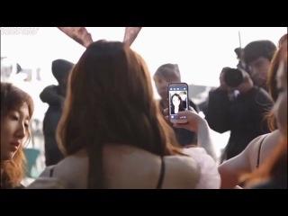 [BTS] Съемки клипа 'Bunny Style!' [рус.саб]