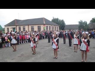 Танец,Флешмоб,Вальс на выпускной.Линовская СШ 2014