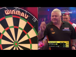 Darryl Fitton vs Glen Durrant (BDO World Darts Championship 2015 / Quarter Final)