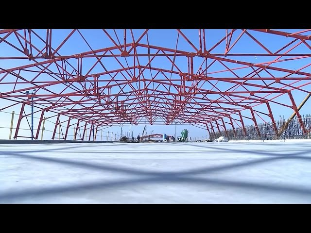 Крымский мост Зима 2016 2017 Керченский мост