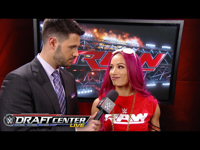 SBMKV Video Sasha Banks discusses being drafted to Raw July 19 2016