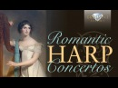 Romantic Harp Concertos Compilation Long 2 hours Handel Mozart Boieldieu Wagenseil others