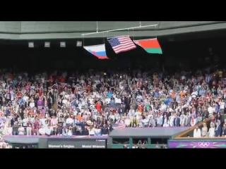 Американский флаг рухнул под гимн России!