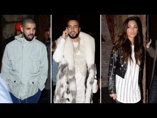 Drake, French Montana, And Nicole Scherzinger Party At TAO