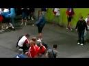 Rosja - Czechy (4_1) Ruscy zadymiarze na EURO 2012 we Wrocła.mp4