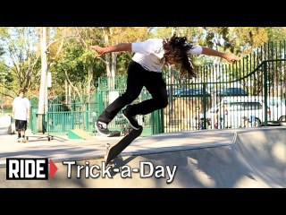 How-To Kickflip B/S Disaster with Shawn Hale - Trick-a-Day
