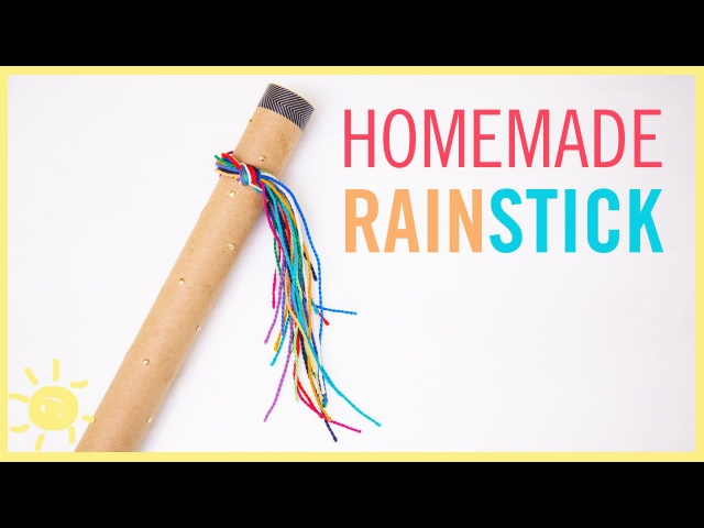 DIY Rainstick Fun Kid's Craft