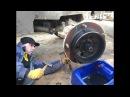 🚜Ремонт бортовой экскаватора-погрузчика JCB 3CX🔧🔨Замена сальников ступицы JCB 3CX🔩Repairs JCB3CX