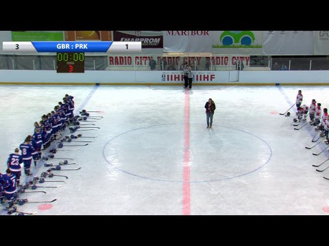 IIHF Women's WC Slovenia GBR PRK
