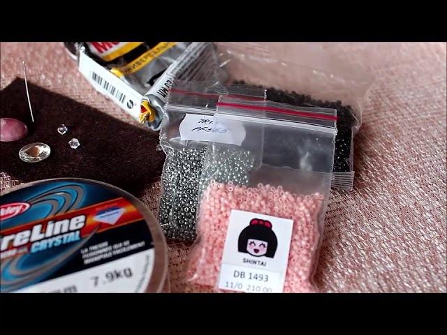 Жук-Паук. Часть 1. Подбор материалов. TUTORIAL spider beads 1