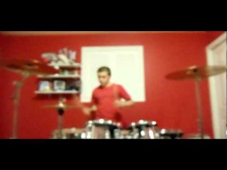 COMBICHRIST - Throat Full Of Glass (drum cover) by 14 y/o Evan Patterson
