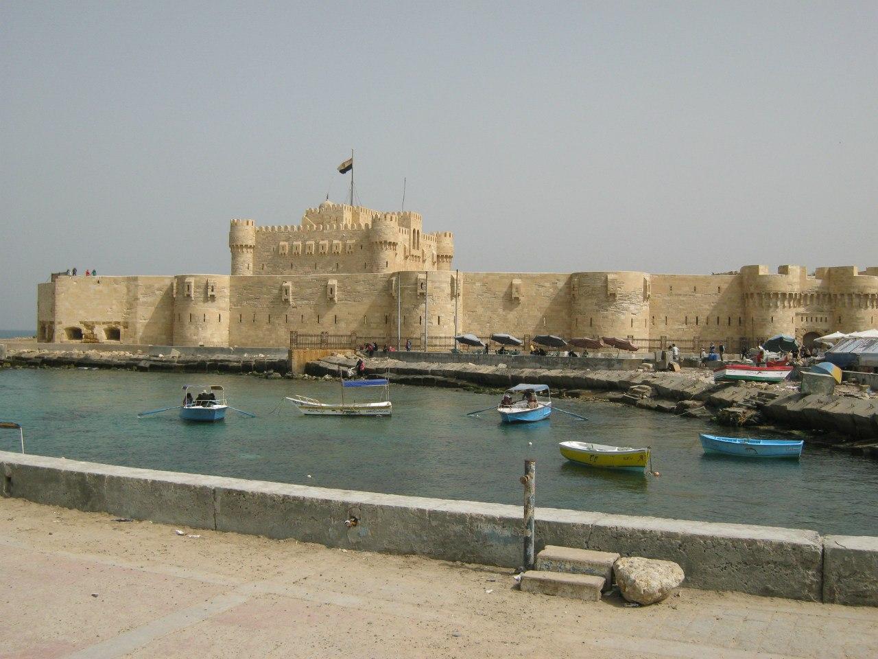 Крепость Каитбей (Qaitbei) в Александрии