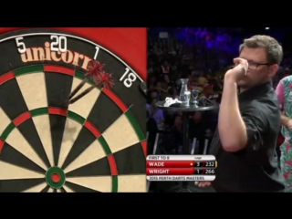 Peter Wright vs James Wade (Perth Darts Masters 2015 / Quarter Final)