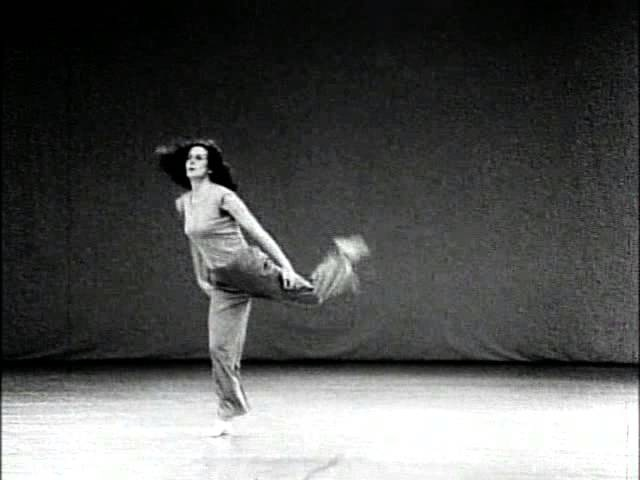 Trisha Brown in Watermotor, by Babette Mangolte (1978)