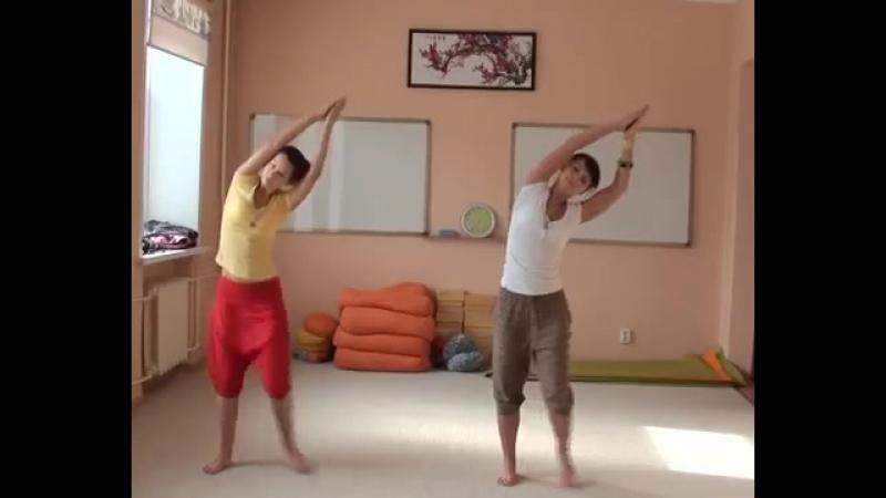 Каушики Kaoshiki Танец упражнение для лечения всего организма и психо духовного прогресса Просто включи и танцуй 21 минуту