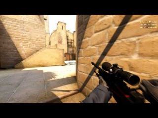 MM CS:GO 4 kills with awp anti-eco