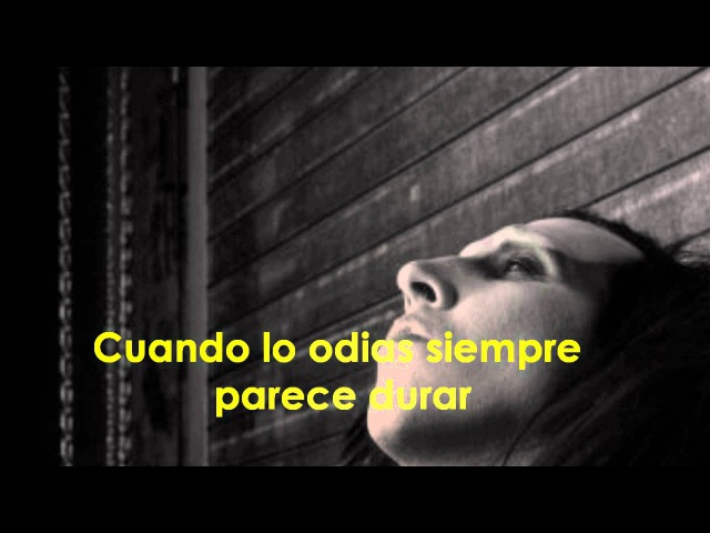 Marilyn Manson The Speed of Pain Subtitulada