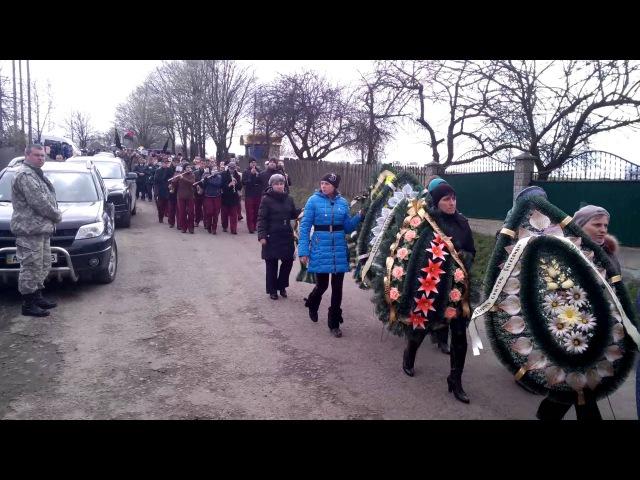 Похорон Олександра Кармільчика