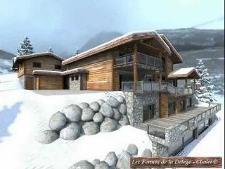 Chalet de Grand Luxe à Vendre - Les Fermes de la Delege - Crans-Montana Valais Suisse