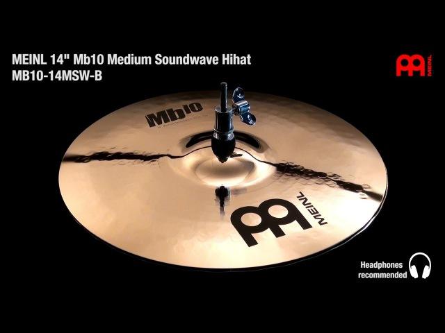 MEINL 14 Mb10 Medium Soundwave Hihat