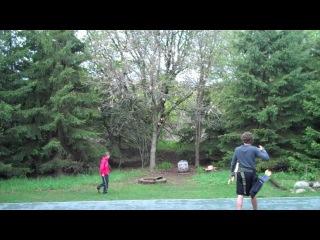 Insane Archery Trick Shot Compilation (HD)