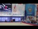 Лилия Ахаимова, вольные упражнения