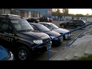 Test drive Toyota vs UAZ Patriot тест драйв Extreme 4x4