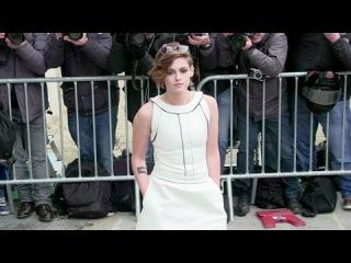 American actress Kristen Stewart attending Chanel Haute Couture in Paris