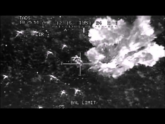 боевые действия расстрел лагеря террористов с вертолётов Апач
