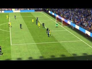 Willian great solo FIFA15