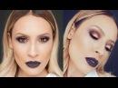 Vampy Makeup look with melt Dark matter Stack