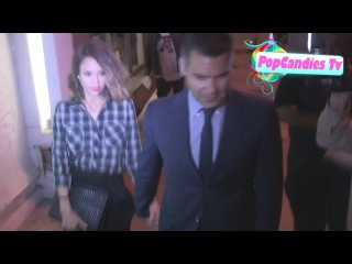 Jessica Alba & Cash Warren are Sexy & Sophisticated after romantic dinner departing Craigs WeHo