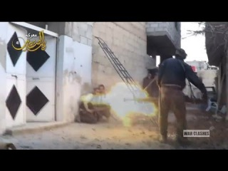 Syrian Rebels In Heavy Clashes With The Syrian Army In Daraya | Syrian Civil War