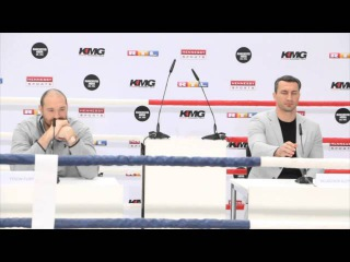 TYSON FURY - 'YOU CAN CALL ME FAT, BALD, UGLY ... JUST DON'T CALL ME WLADIMIR KLITSCHKO , THAT IS AN INSULT!'