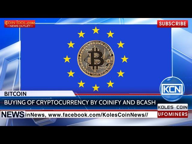 KCN @Coinify Bcash allow people to buy Bitcoin with cards CoinIdol BTC Bitcoin Info Newsbtc Youtube YuLyR3