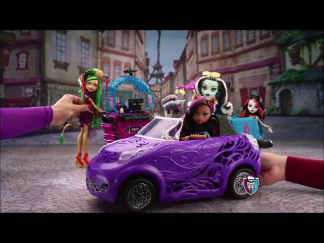 Monster High Commercials (From 2010 to 2016)