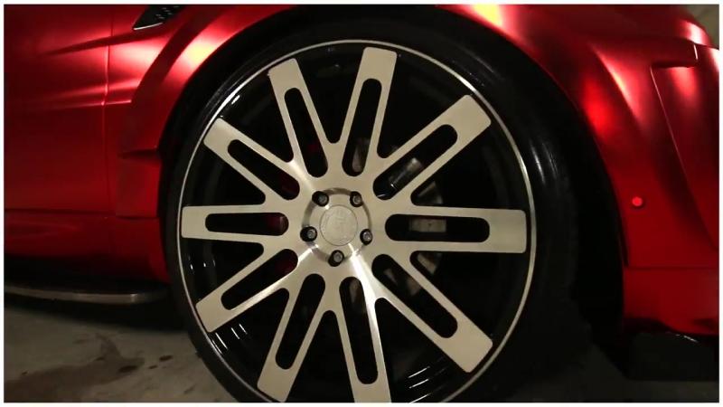 Range Rover Sport Supercharged Vezoir VZR 600